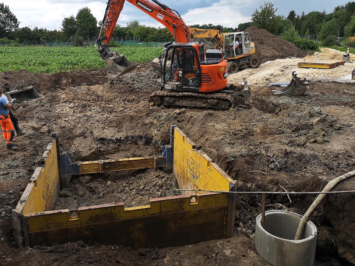 Wasserleitungsbau Bubesheim